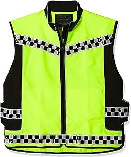 Size Medium PROFIRST Mens Hi Vest Motorbike Hi Viz Waterproof Motorcycle Hi Vis Waistcoat Jacket High Visibility