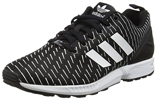 adidas Herren Zx Flux Low Top, Schwarz