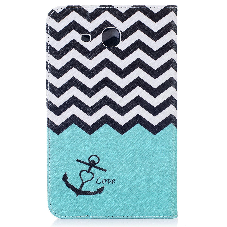 Romtronic Galaxy Tab A6 7.0 Coque touch pen inclus 2016 Version Design 20 Cute Colorful Flip PU Leather Coque Stand Housse de Protection pour Samsung Galaxy Tab A 7.0 Pouces SM-T280 T285