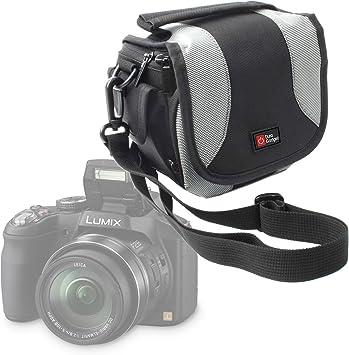Panasonic Lumix DMC-LX100EGK DURAGADGET Bolso Negro Y Gris para C/ámara Panasonic Lumix G7KEC-K