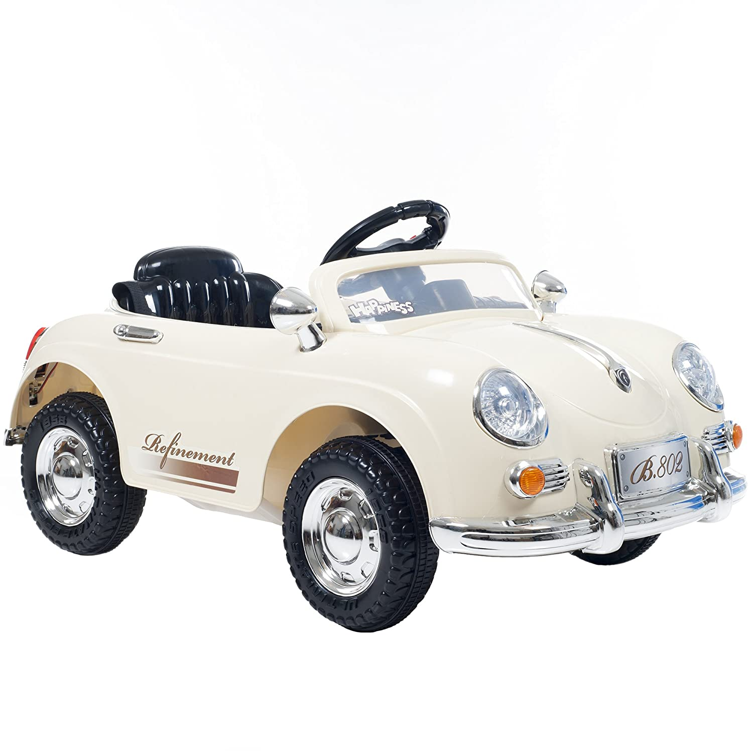 Amazon Com Ride On Toy Car Battery Operated Classic Sports Car