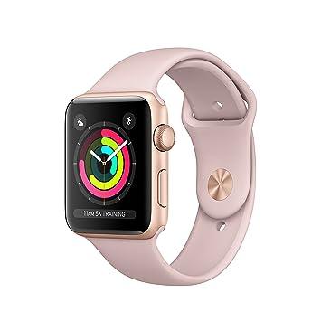 Apple Watch Series 3 Reloj Inteligente Oro OLED GPS (satélite) - Relojes Inteligentes (OLED, Pantalla táctil, GPS (satélite), 18 h, 32,3 g, Oro)