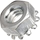 Steel Hex Nut, #4-40 Threads (Pack of 100)