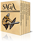 Saga Six Pack 3 – The Story of Burnt Njál, Magnus the Good, Song of Atli, The Hell-Ride of Brynhild, Saga of Olaf Kyrre and Lay of Hamdir (Illustrated)