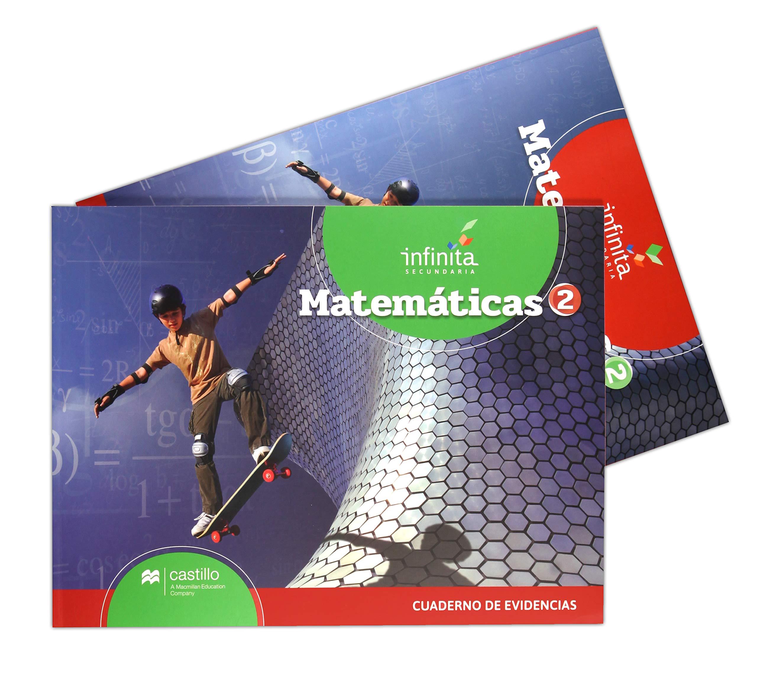 PAQ. MATEMATICAS 2 SERIE INFINITA SECUNDARIA / (LIBRO DE ...