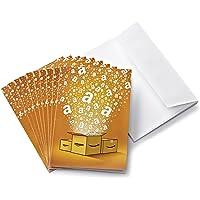 Lote de 10 Tarjetas Regalo de Amazon.es + tarjetas de felicitación - Envío 1 día gratis