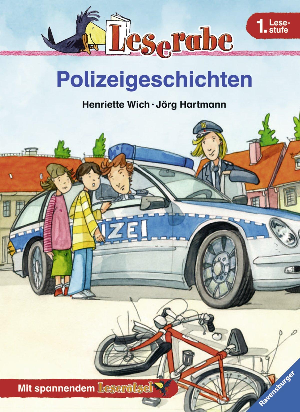 Leserabe. Polizeigeschichten. 1.Lesestufe, ab 1. Klasse