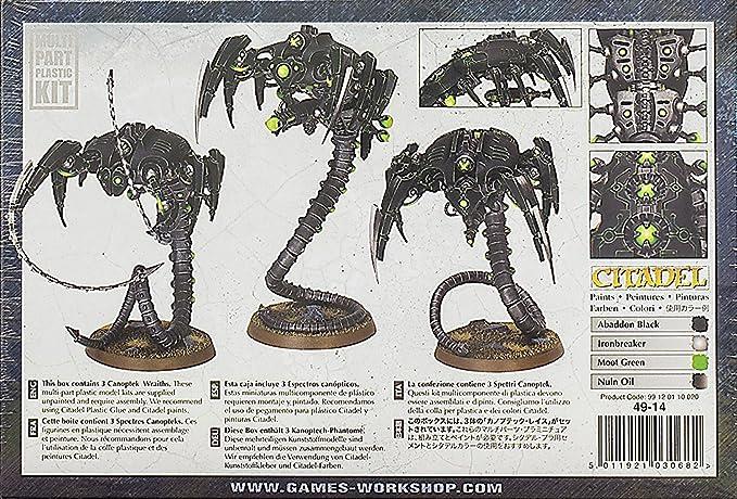 Games Workshop Jeux Atelier 99120110020/NECRON Canoptek Wraiths Acton Figure
