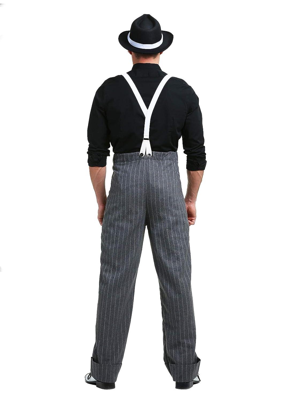 Amazon.com: Disfraz de Gangster de los años 20 para hombre ...