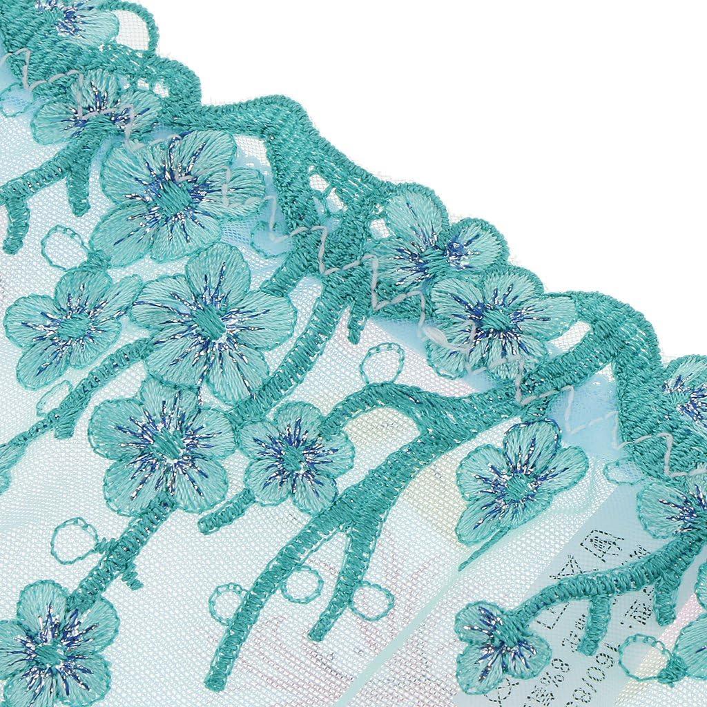 Baoblaze Transparent Frauen Slips Mesh mit Blumen Damen Panties Transparent Slips Hipster Unterw/äsche Unterhosen Tanga Thong H/öschen