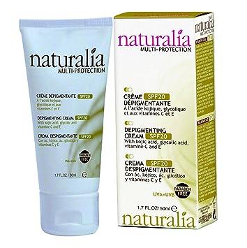 NATURALIA Depigmenting Facial Cream with SPF 20 - new formula 50 ml