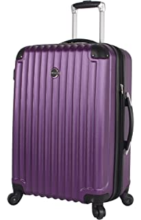 43676f7ac Lucas Outlander Large Hard Case 28 inch Expandable Rolling Suitcase With Spinner  Wheels (One Size