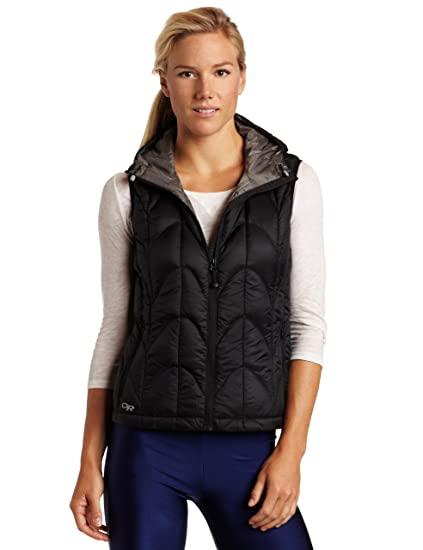 Amazon.com  Outdoor Research Women s Aria Vest  Clothing ec6eefffc1