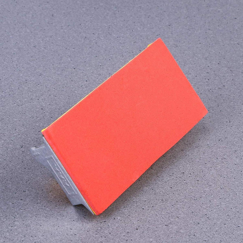 pon/çage Outil de pon/çage pour Murs Outils abrasifs Paytion Outils de pon/çage avec poign/ée pour Papier de Verre Poign/ée en /éponge Jaune Travail du Bois Polissage