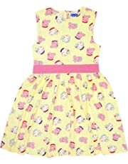 Peppa Pig Peppa & Suzy Girl's Yellow Party Dress 1 to 6 Years