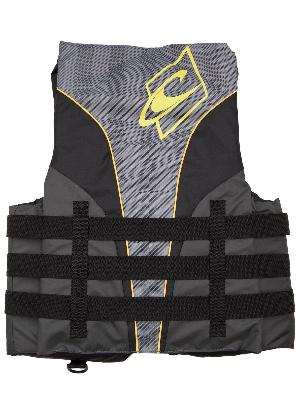 O'Neill Mens Superlite USCG Life Vest S Black/Graphite/Smoke/Yellow (4723) by O'Neill (Image #3)