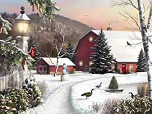 Diamond Painting Kits Quiet Court Full Drill 5D DIY Arts & Crafts Christmas Decorations Bling Artwork Decor Set with Crystal Rhinestone Gems 12x16