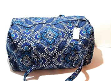 2f4909c21be8 Image Unavailable. Image not available for. Color  Vera Bradley Large Duffel  - Blue Tapestry