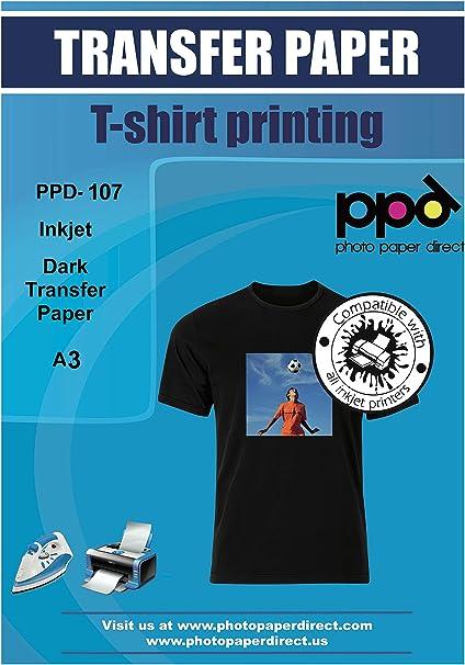PPD A3 Jet d'encre Papier transfert pour