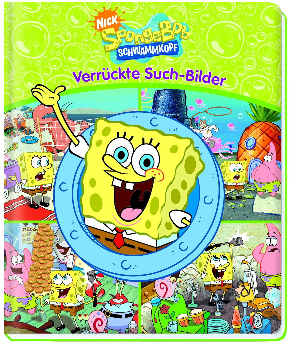 SpongeBob - Verrückte Suchbilder, Wimmelbild