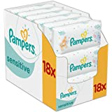 Pampers Sensitive Protect Baby Wipes - 18 Packs (1008 Wipes)