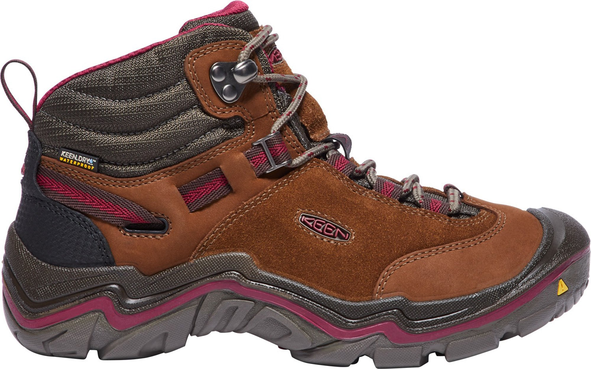 KEEN Women's Laurel Mid WP-w Trail Runner, Monks Robe/Rhododendron, 9 M US by KEEN (Image #1)