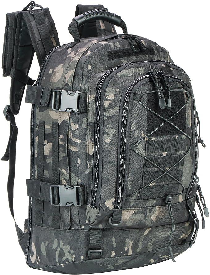 WolfWarriorX Hiking Expandable Backpack
