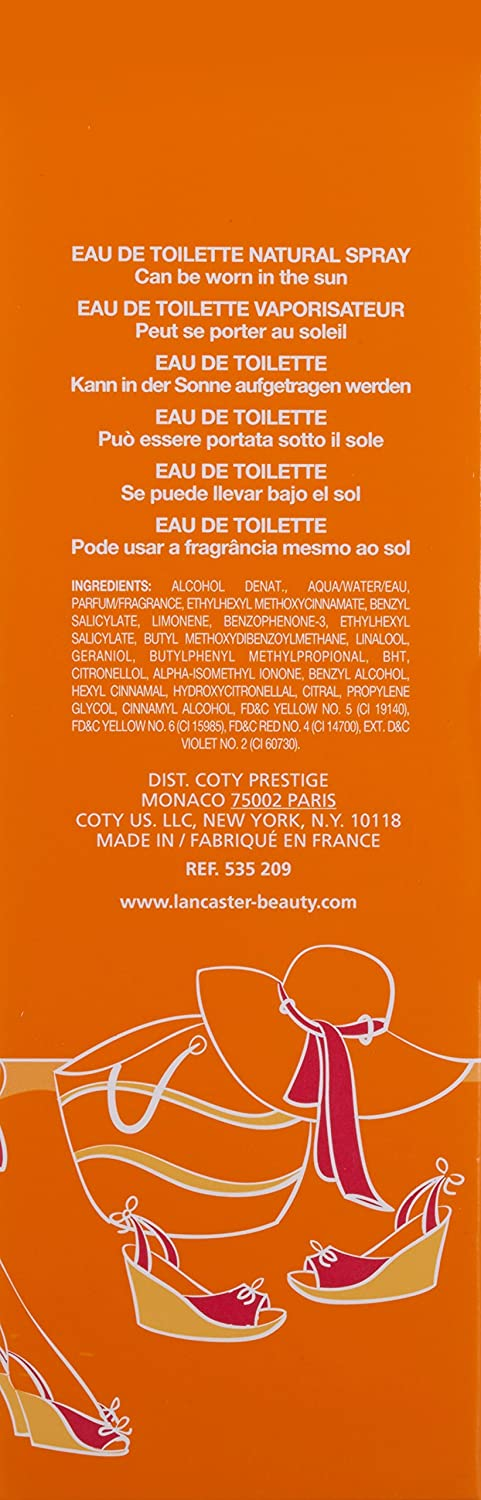 Lancaster Sole Di Capri Eau de Toilette Vaporizador 100 ml: Amazon.es: Belleza