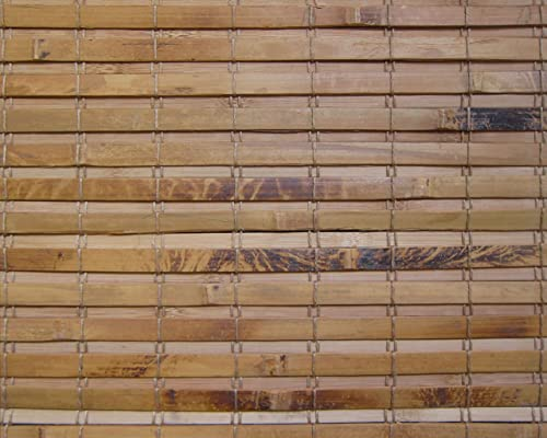 Cordless Woven Wood Roman Shade