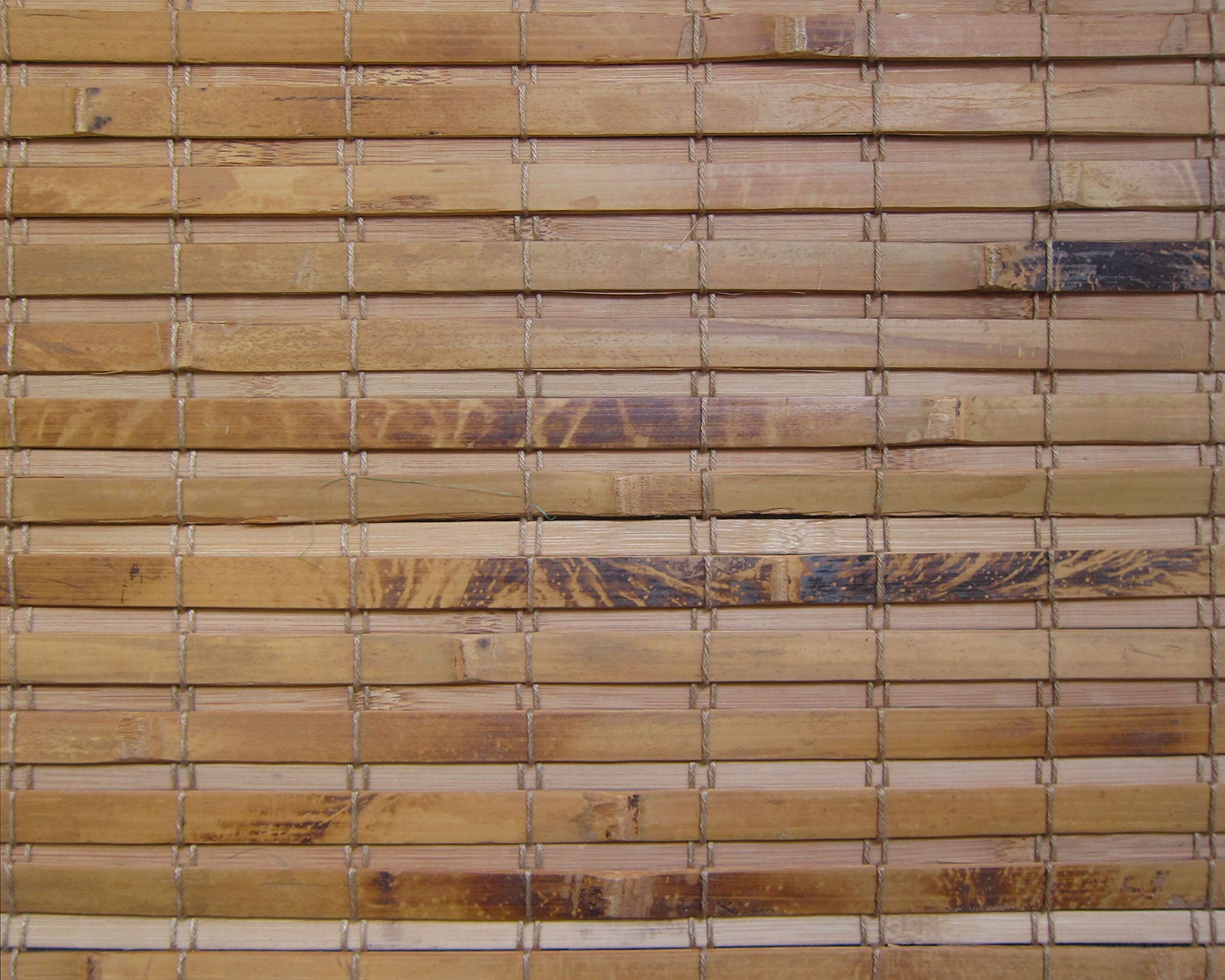 Cordless Woven Wood Roman Shades, 44W x 60H, Hatteras Camel, Any Size 20-72 Wide and 24-72 High by Windowsandgarden