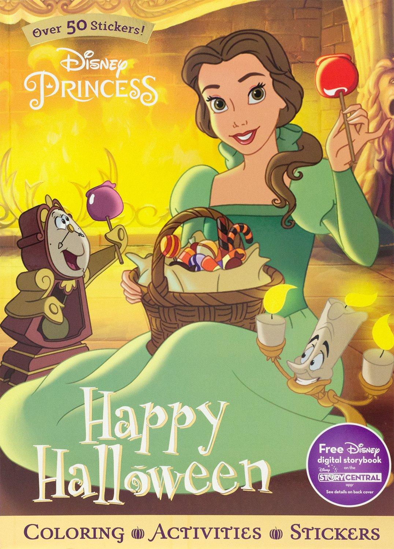 Disney Princess Happy Halloween (Sticker Scenes & Coloring Book)