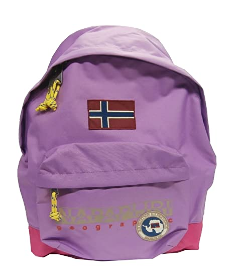 Napapijri North Cape Backpack-Mochila, Color Gris Morado Talla única