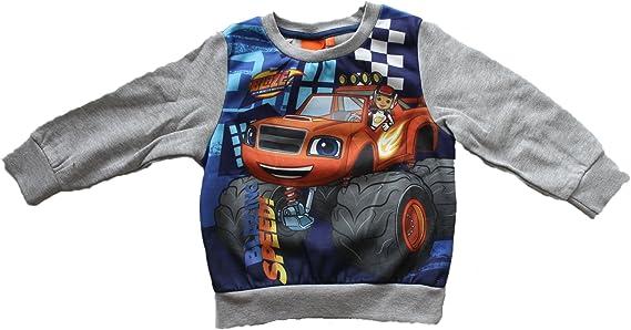 Blaze et le monstre machines âge 3 ans bleu personnage Pull Nickelodeon