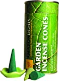 Amazon Lights New All-Natural Insect Repellent Outdoor Garden Incense Cones - Set of 50 Cones with Ceramic Burning Dish