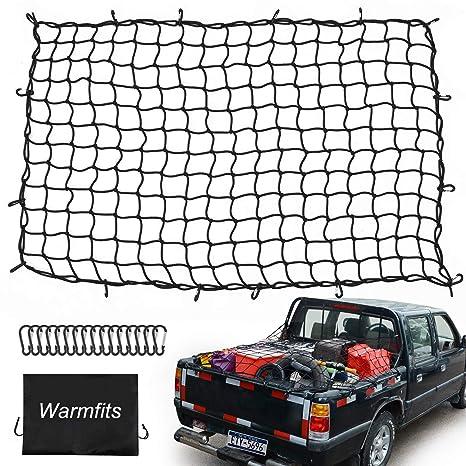 Truck Bed Cargo Net >> Amazon Com Warmfits 4 X6 Super Duty Truck Bed Cargo Net Stretches