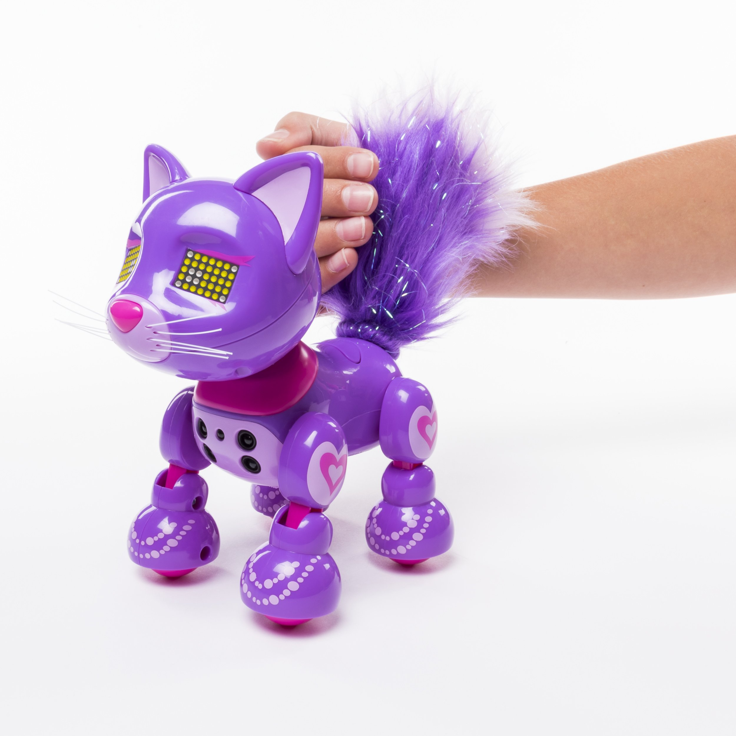 Zoomer Meowzies, Posh, Interactive Kitten with Lights, Sounds and Sensors by Zoomer (Image #4)