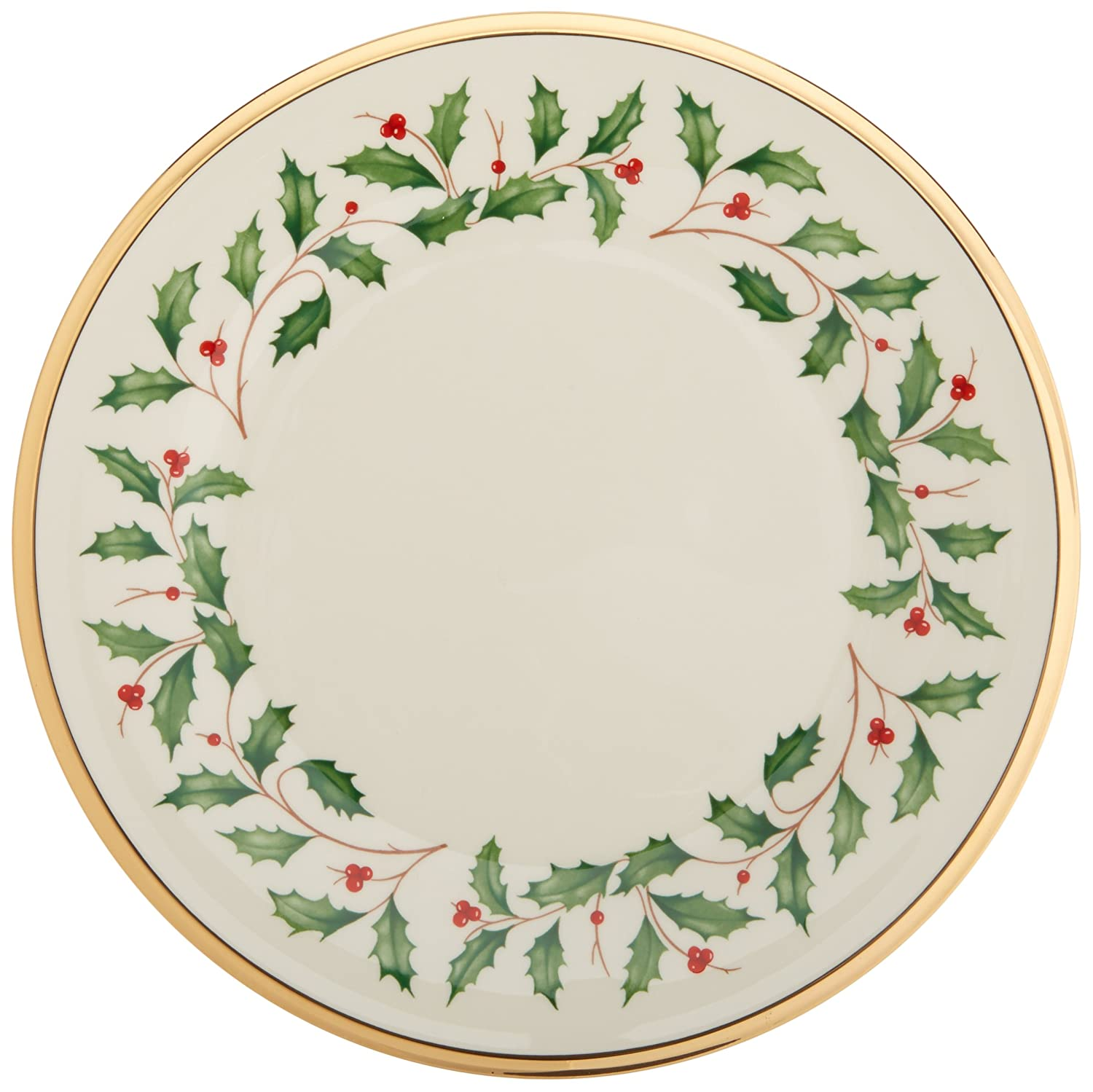 Amazon.com Lenox Holiday Salad Plate Holiday Lenox China Kitchen \u0026 Dining  sc 1 st  Amazon.com & Amazon.com: Lenox Holiday Salad Plate: Holiday Lenox China: Kitchen ...