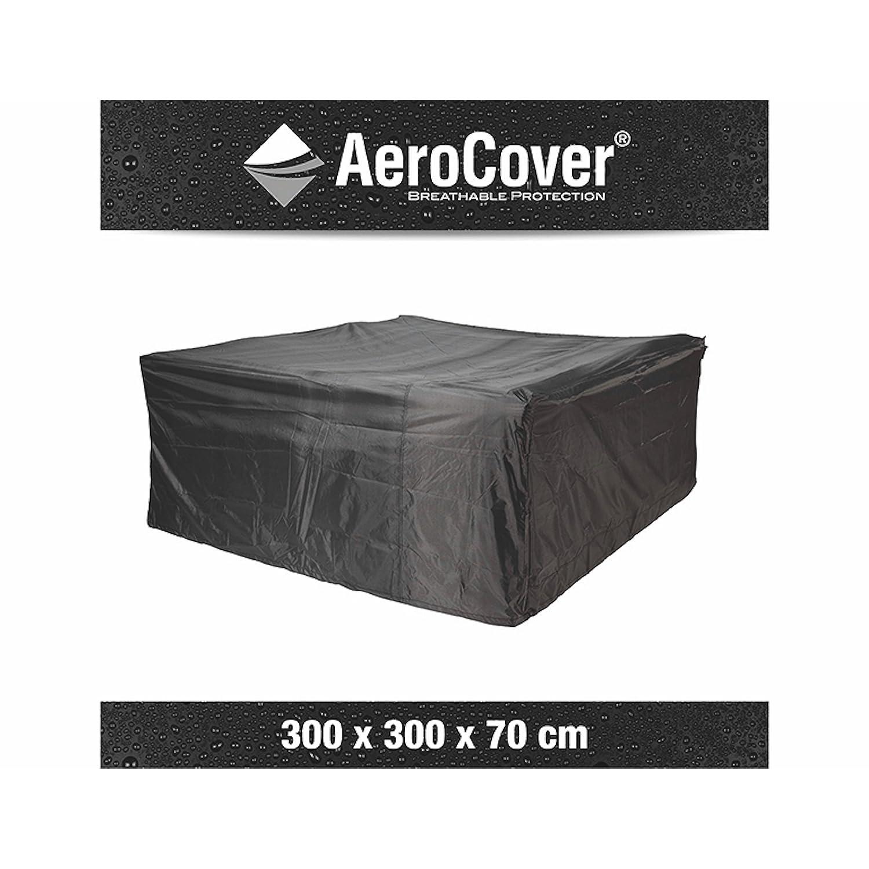 AeroCover Loungesethülle 300 x 300 x 70 cm Schutzhülle atmungsaktiv 444369