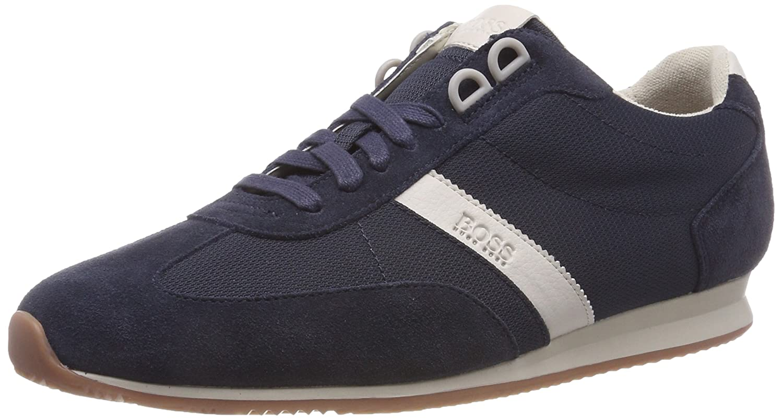 Boss Orange Orland_lowp_sdny1, Zapatillas para Hombre 45 EU|Azul (Dark Blue 401)