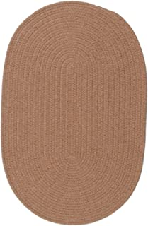 product image for Solid Wool Blend Evergold Rug Rug Size: Oval 5' x 7'