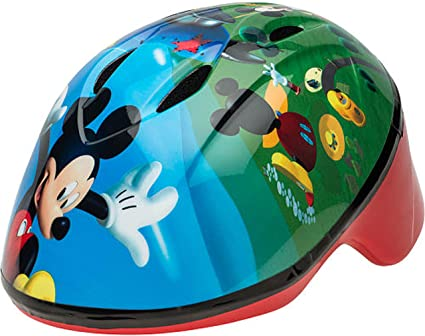 coupon code on feet images of cute cheap Amazon.com : Bell 7063795 Mickey Mouse Toddler Bike Helmet ...