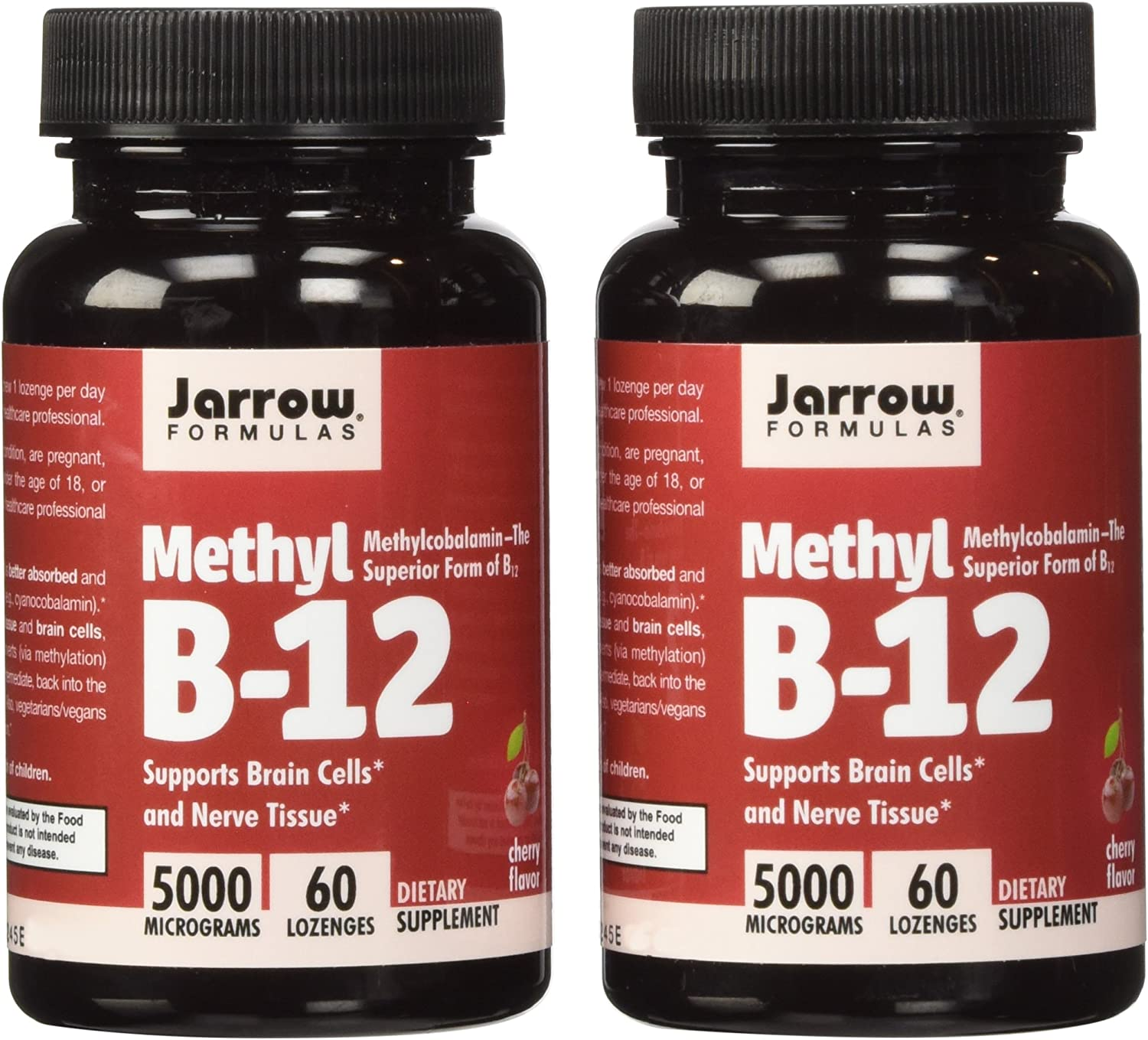 Jarrow Formulas Methyl B12, Methylcobalamin 2 X 60