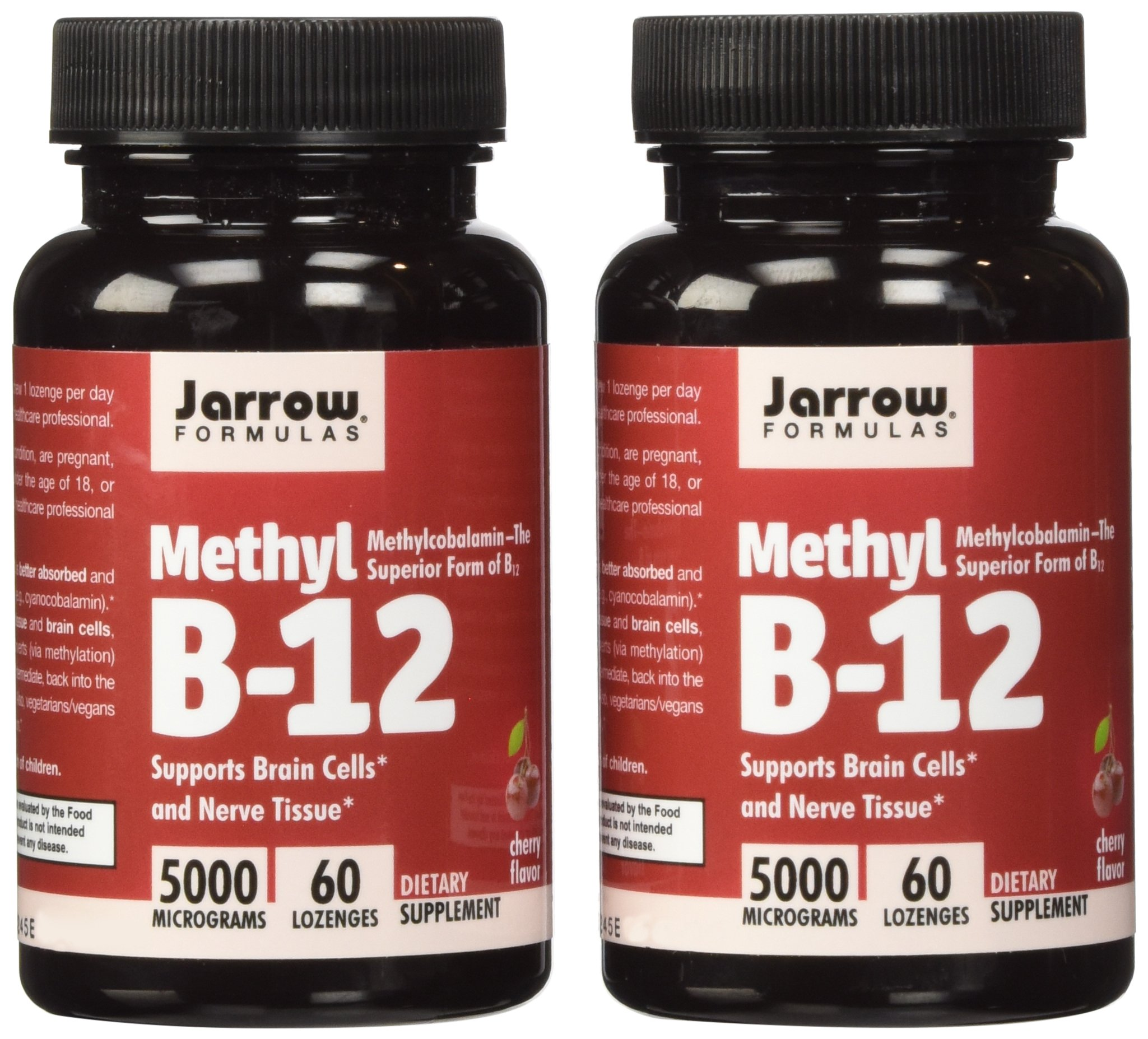 Jarrow Formulas Methyl B12, Methylcobalamin (2 X 60) by Jarrow Formulas