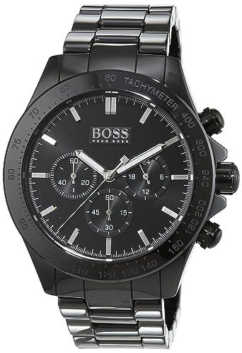 e636c465a697 Reloj cronógrafo con mecanismo de cuarzo para hombre Hugo Boss 1513197 y  correa de cerámica.  Amazon.es  Relojes