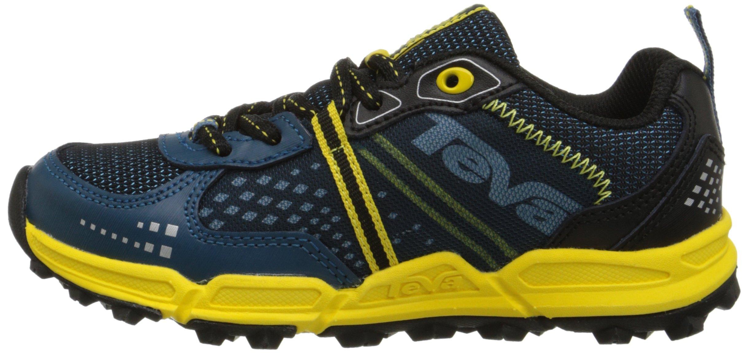 Teva Escapade Lo Athletic Trail Shoe (Little Kid/Big Kid), Blue/Yellow, 11 M US Little Kid by Teva (Image #5)