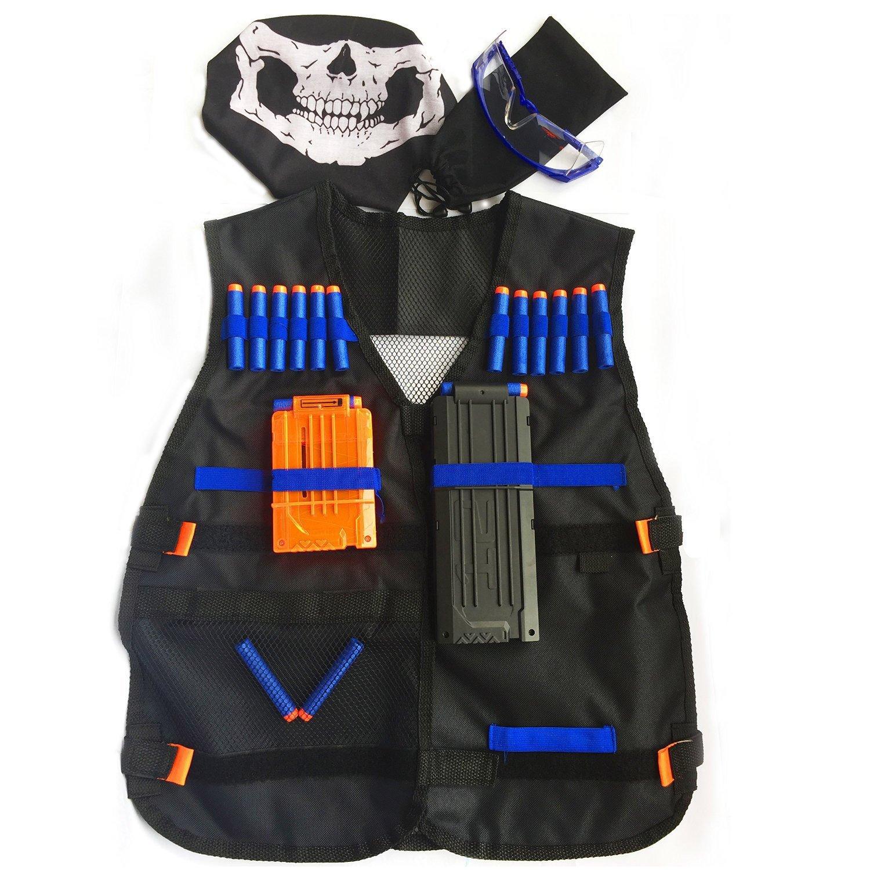 GFU Tactical Vest Kit for Nerf Guns N-Strike Elite Series