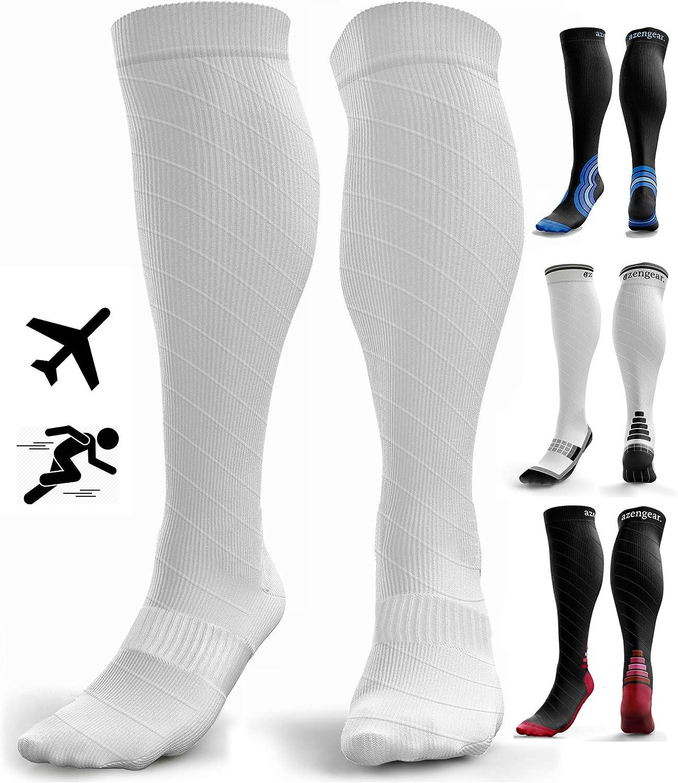 Calcetines de Compresión para Hombres y Mujeres - Medias de ...