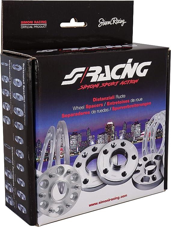 Simoni Racing DR095//B18 Distanziali Ruota specifico con bulloni