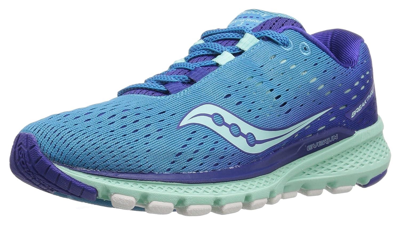 Saucony Women's Breakthru 3 Running Shoe B01MY7RA12 10 B(M) US|Blue/Mint