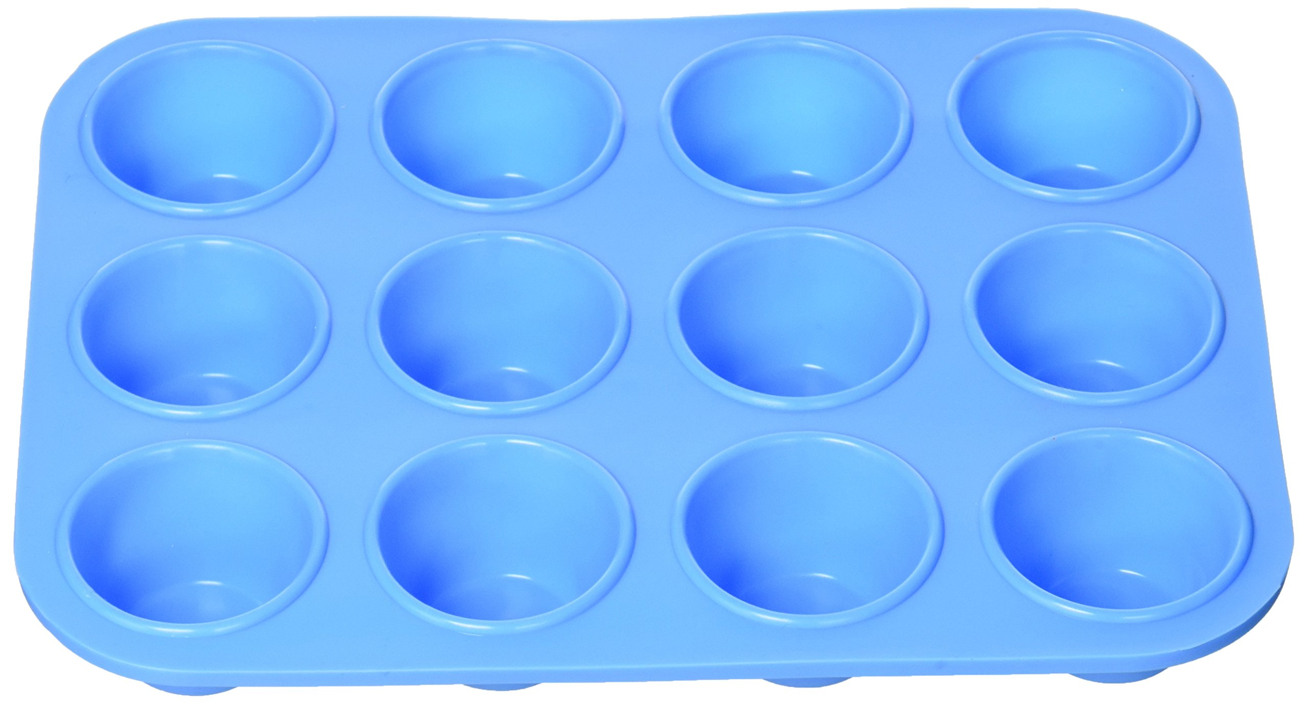 bulk buys OL462 Silicone Mini Muffin Tray, Natural